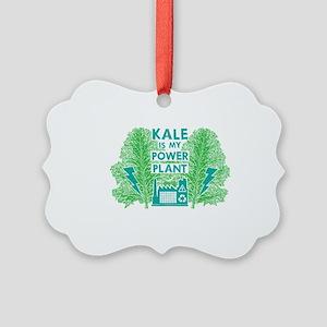 Kale Power Plant 4 Picture Ornament
