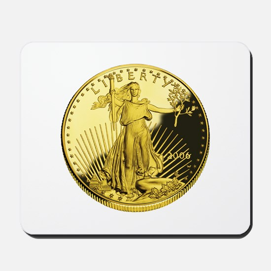 american gold eagle.png Mousepad