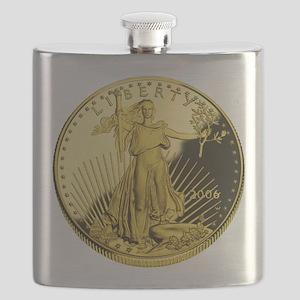 american gold eagle Flask