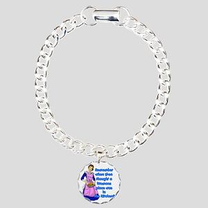 REMEBER-WHEN-50S Charm Bracelet, One Charm