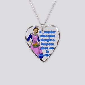REMEBER-WHEN-50S Necklace Heart Charm