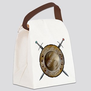 CP Shield_and_sword_Logo Canvas Lunch Bag