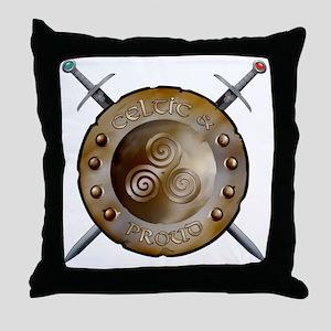 CP Shield_and_sword_Logo Throw Pillow