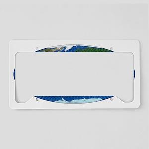 mollweide_3000t License Plate Holder
