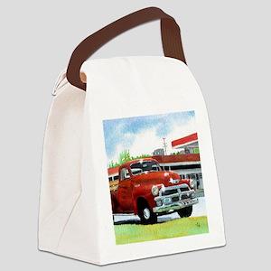 truckframe Canvas Lunch Bag
