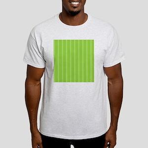 Duvet Queen Aqua Owl stripes green Light T-Shirt