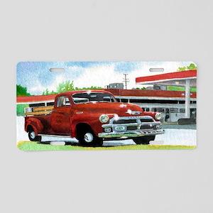 trucksticker Aluminum License Plate