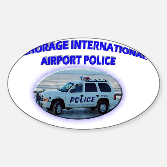 Anchoragedodge Sticker (Oval)