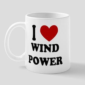 I Heart Wind Power Mug