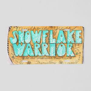 SnowflakeWarrior Aluminum License Plate