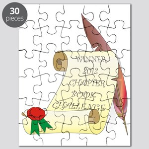 2012 Chapter Book Challenge Winner tr Puzzle