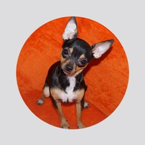 ChihuahuaShower2 Round Ornament