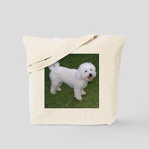 BichonFriseShower Tote Bag