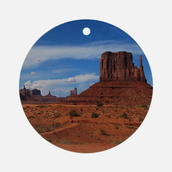 Distance Monuments Ornament (Round)