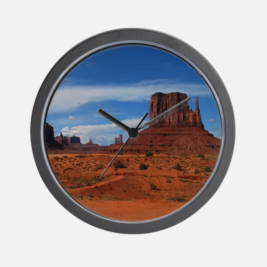 Distance Monuments Wall Clock