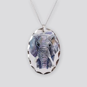 elliet Necklace Oval Charm