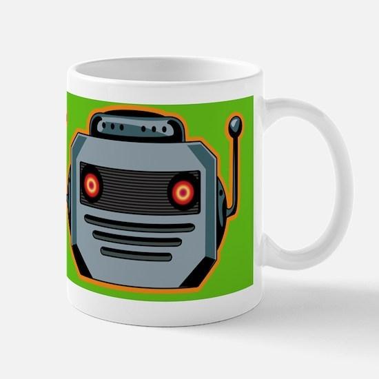 RobotHeadmousepadPuzzle Mug
