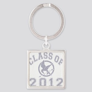 Class Of 2012 Hunger Game - Grey 2 Square Keychain