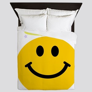 Smiley Angel Queen Duvet