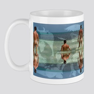 Picasso Guernica Over Male Bathers Mug