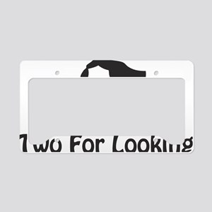 twoforlooking License Plate Holder