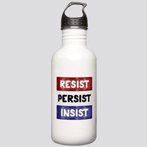 RESIST PERSIST INSIST Stainless Water Bottle 1.0L