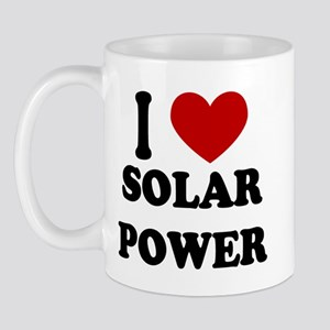 I Heart Solar Power Mug