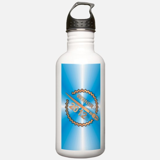 Chapter Book Challenge Water Bottle