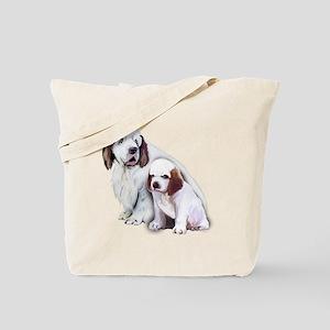 clumber spaniels Tote Bag