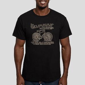 vint-bikead Men's Fitted T-Shirt (dark)