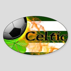 celtic-fb-toiletry-bag Sticker (Oval)