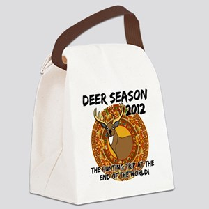 deer apocalypse dark Canvas Lunch Bag