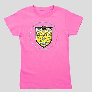 WarriorOfLight_Badge (Gold  White) Girl's Tee