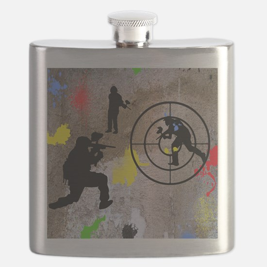 pAINTBALL aIM TWIN Flask