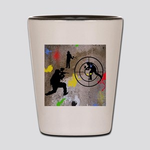 pAINTBALL aIM TWIN Shot Glass