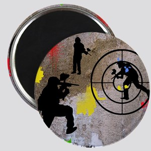 pAINTBALL aIM TWIN Magnet