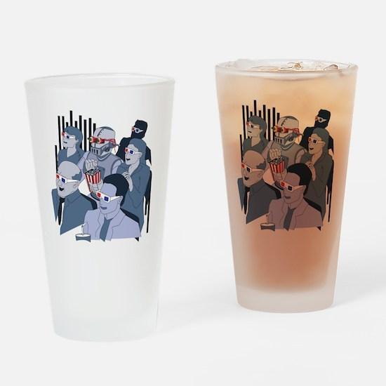 RobotAtMovies Drinking Glass