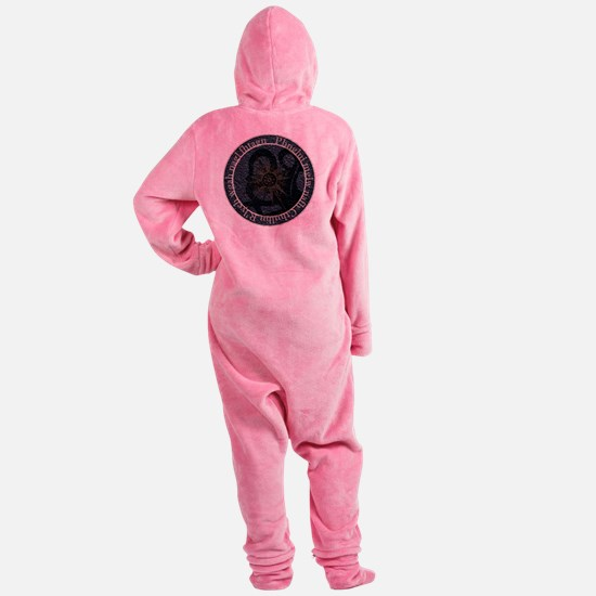lovecraftseal Footed Pajamas