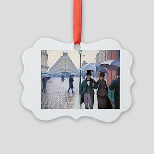 Mug2 Caille Paris Picture Ornament