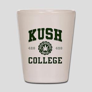 KUSH_COLLEGE_ Shot Glass