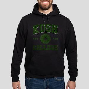 KUSH_COLLEGE_ Hoodie (dark)