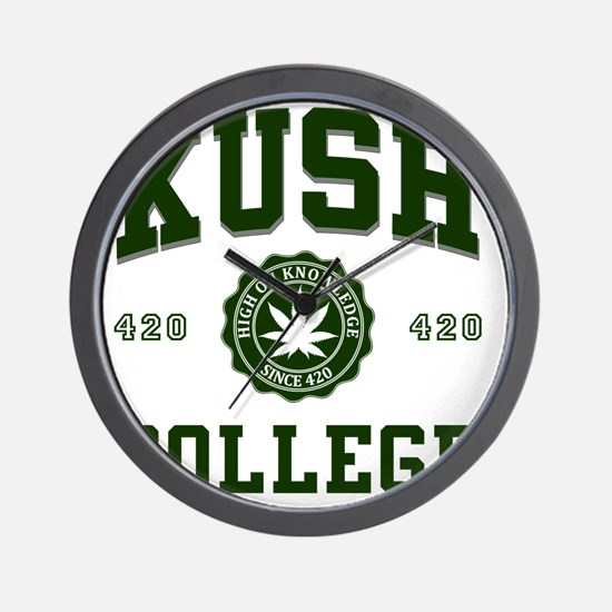 KUSH_COLLEGE_ Wall Clock