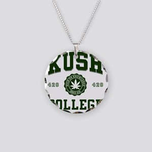 KUSH_COLLEGE_ Necklace Circle Charm