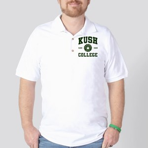 KUSH_COLLEGE_ Golf Shirt