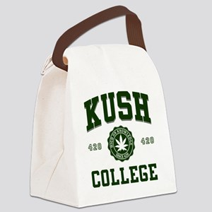 KUSH_COLLEGE_ Canvas Lunch Bag