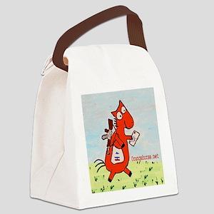 postal!2- Canvas Lunch Bag