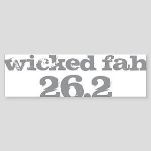 Wicked Fah Sticker (Bumper)
