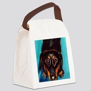 blacktan Canvas Lunch Bag