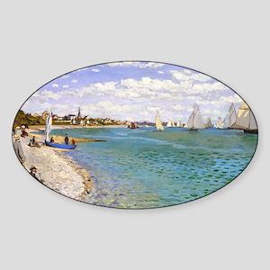 Bag Monet 1 Sticker (Oval)