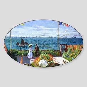 Bag Monet 2 Sticker (Oval)